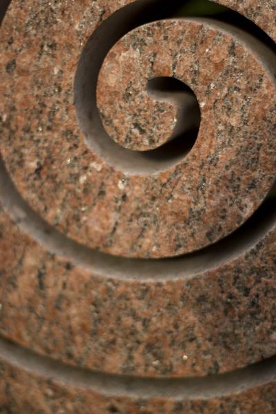 Detail der Spirale.