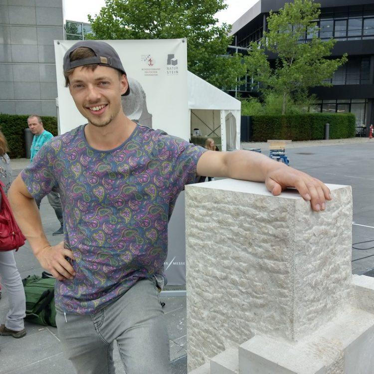 Timm auf der stone-tec 2018 in Nürnberg